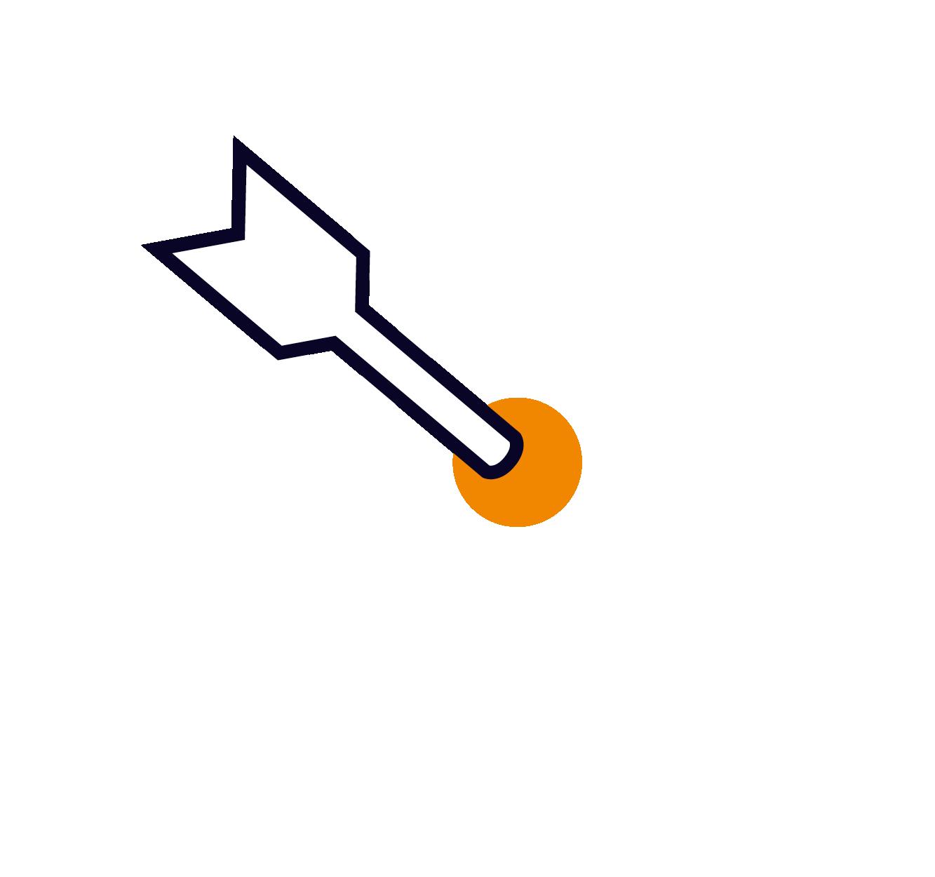 pictogramme de cible