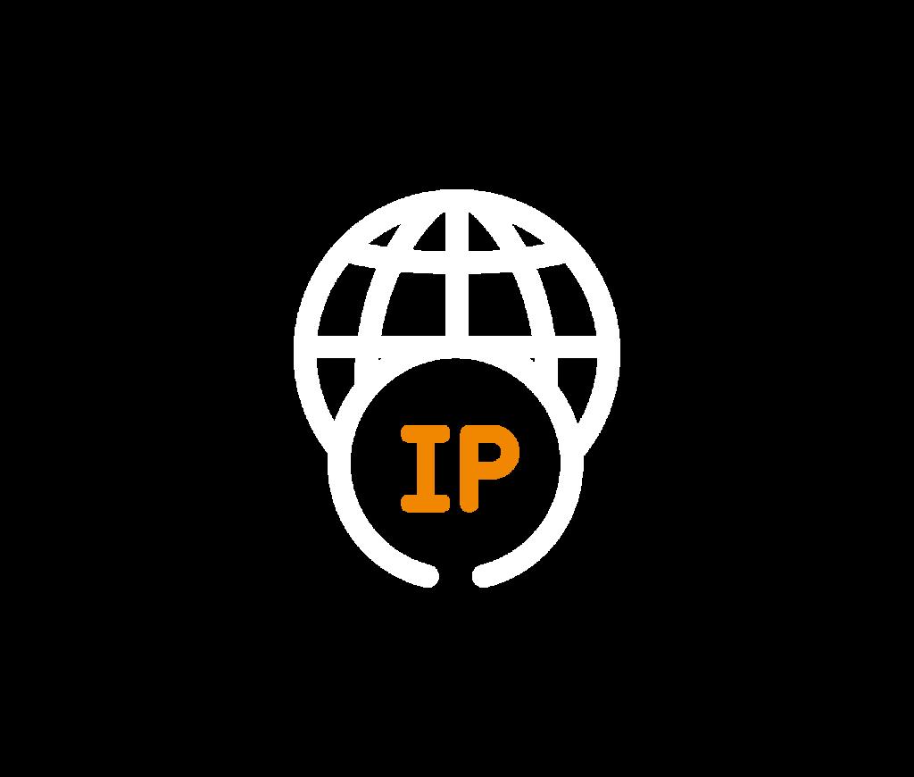 pictogramme de monde IP